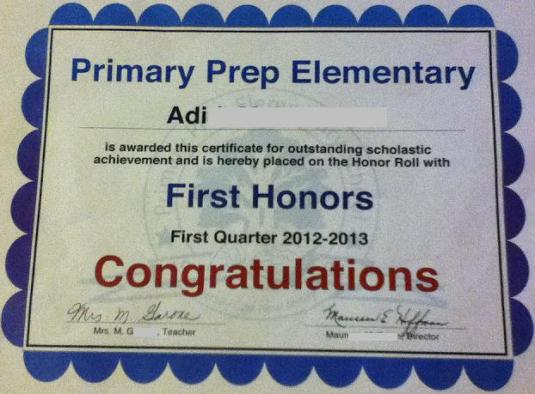 first-honors